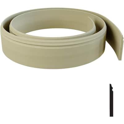 3/4 in. x 144 in. x 7 1/4 in. Resin Baseboard Flexible Moulding