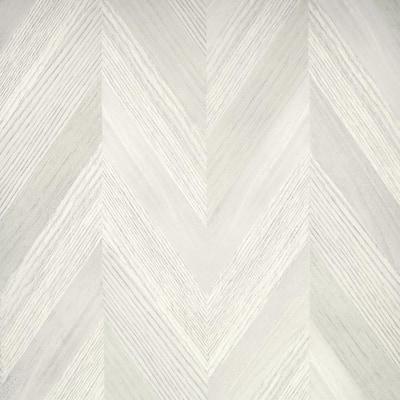 Chevron Wood Neutral Non-Peel and Stick Wallpaper