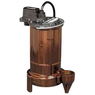 280-Series 1/2 HP Submersible Sump Pump