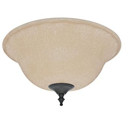 Amber Linen Bowl Glass