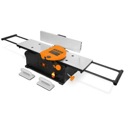 10 Amp 8 in. Spiral Benchtop Jointer with Extendable Table