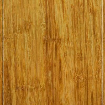 Strand Woven Natural 3/8 in. Thick x 4-3/4 in. Wide x 36 in. Length Click Lock Bamboo Flooring (19 sq. ft. / case)