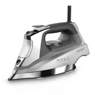 Allure Pro Gray Steam Iron with Comfort Grip