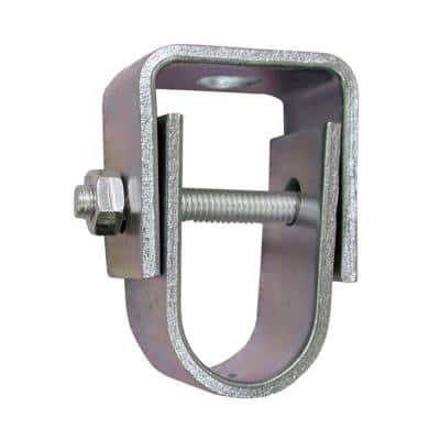 2 in. Zinc Plated Steel Clevis Hanger for 3/8 in. Rod, Standard