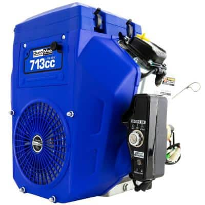 713cc 1 in. Gas Multi-Purpose Horizontal Key Shaft Electric Start Portable Engine 50-State