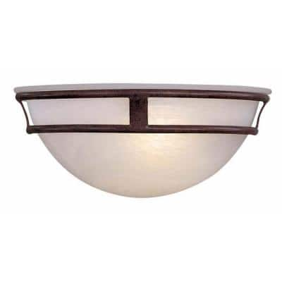 1-Light Antique Bronze Sconce