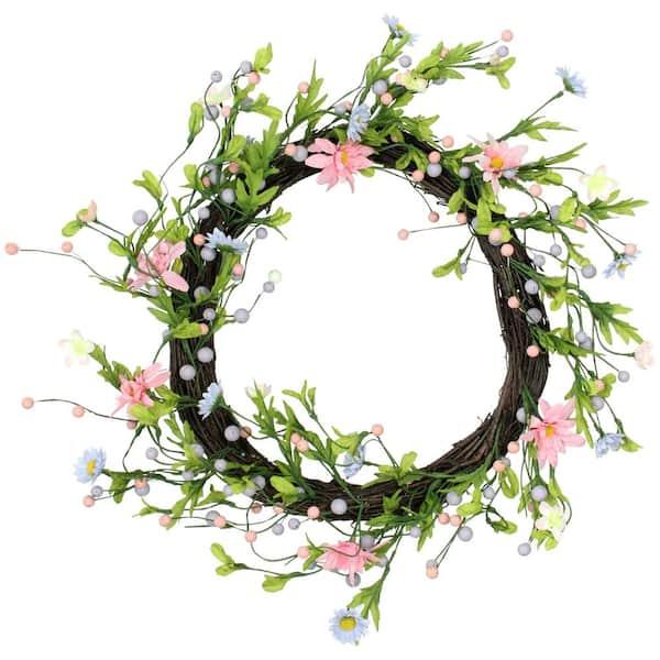 Pink Wreath Year Round Berry Wreath Year Round Wreath -Door Wreath