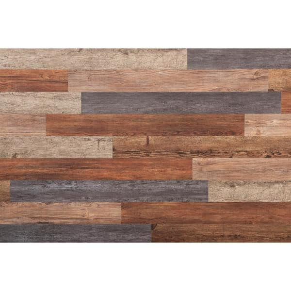 Nance Carpet And Rug E Z Wall Assorted 4 In X 3 Ft Peel And Press Vinyl Plank Wall Decor 20 Sq Ft Case 16632 The Home Depot