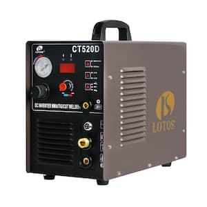50 Amp Plasma Cutter, 200 Amp TIG/Stick Welder 3-in-1 Combo Welding Machine, Dual Voltage 110V/220V