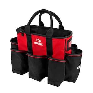 14 in. 15 Pocket Open Top Supply Tool Bag