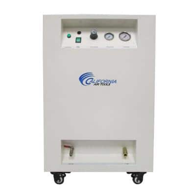 8 Gal. 1 HP Ultra Quiet and Oil-Free Air Compressor in Sound Proof Cabinet