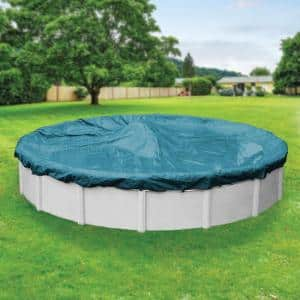 Guardian 18 ft. Round Teal Blue Winter Pool Cover