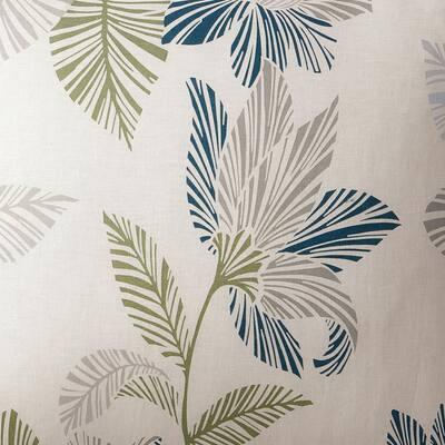 Grady Floral Linen Fitted Sheet