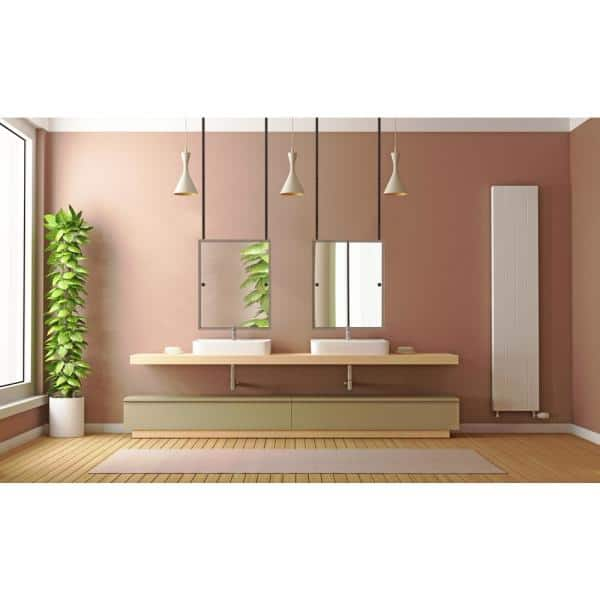 Allied Brass 21 In X 26 In Frameless Rectangle Ceiling Hung Mirror In Matte Black Ch 92 Bkm The Home Depot