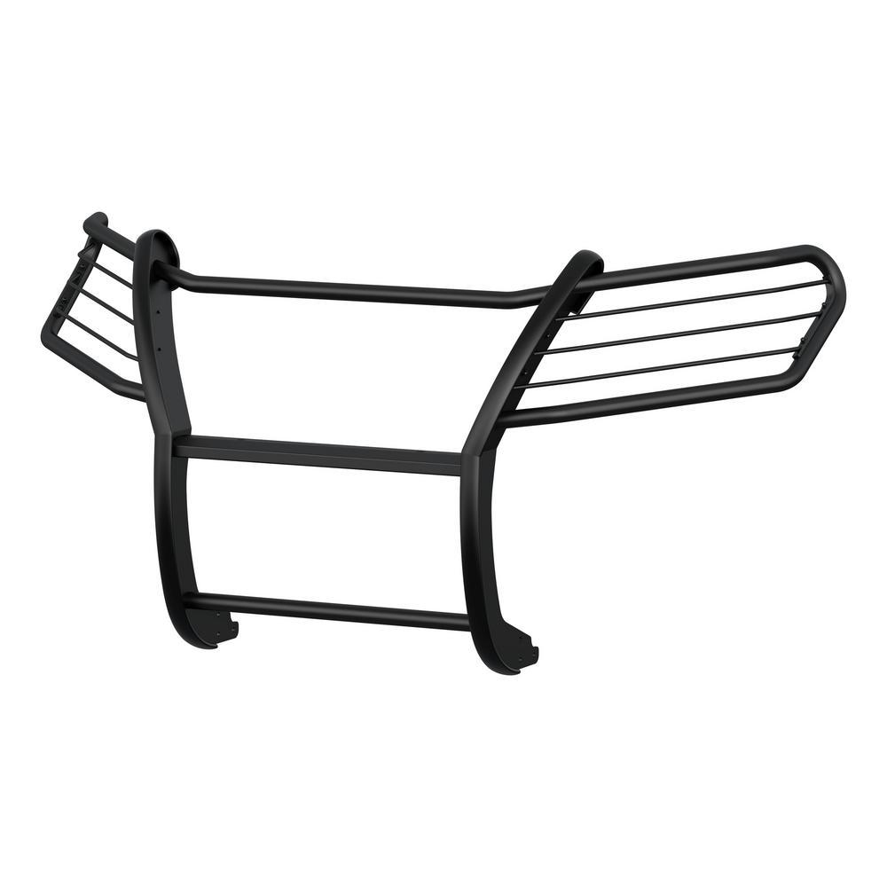 1-1/2-Inch Black Steel Grille Guard, No-Drill, Select Honda Ridgeline