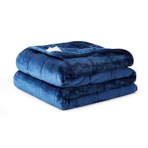 Navy Queen 30 lbs Weighted Comforter