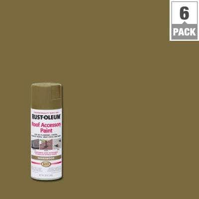 12 oz. Shakewood Roof Accessory Spray Paint (6-Pack)