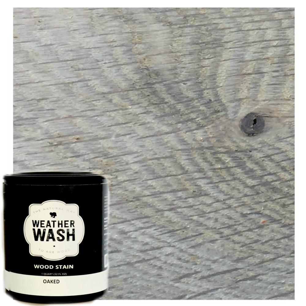1 gal. Oaked Interior Weatherwash Aging Wash