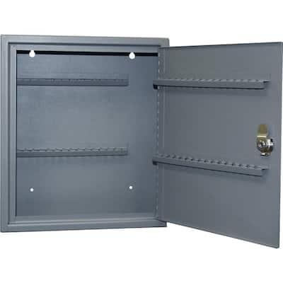 0.21 cu. ft. All Steel Hook Design Key Cabinet in Gray