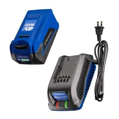 40V 4.0 Ah Battery with Charger