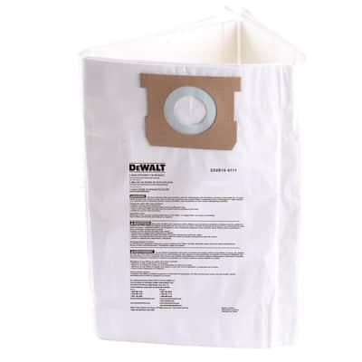 6 Gal. to 10 Gal. Fine Dust Bag Filter Wet/Dry Vacuum