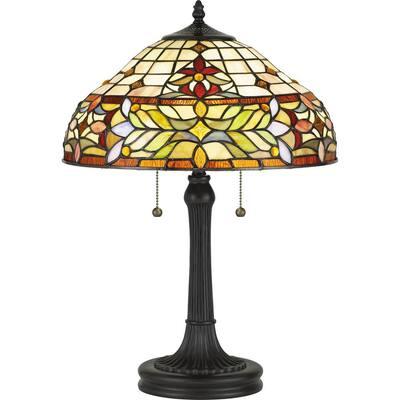 Quinn 22.5 in. Vintage Bronze Table Lamp