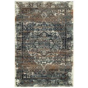 Memphis Blue 7 ft. 10 in. x 10 ft. Area Rug