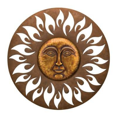 Outdoor Wall Decor, Large Outdoor Sun Wall Hanging