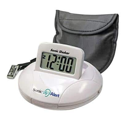 Sonic Bomb Digital Travel Alarm Clock