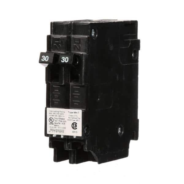 Murray 30 Amp Tandem Single Pole Type Mh T Circuit Breaker Mp3030 The Home Depot