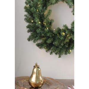 60 in. Pre-Lit Canyon Pine Artificial Christmas Wreath