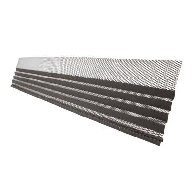 Hoover Dam 3 ft. Gray Brown Gutter Cover (5-Pack)