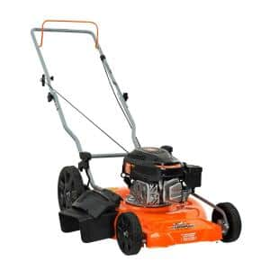 21 in. 170cc OHV Walk Behind Gas Push Mower 2-in-1 Mulch Plus Side Discharge
