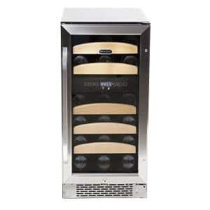 Whynter 28-Bottle Dual Temperature Zone Built-In Wine Refrigerator