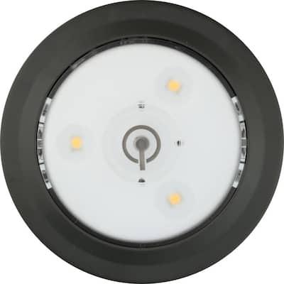 LED Grey Single Puck Light