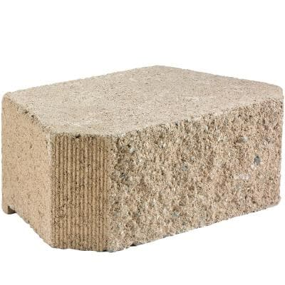 Legacy Stone Deco 6 in. x 16 in. x 10 in. Tan Concrete Retaining Wall Block (45-Pieces/30.2 sq. ft./Pallet)