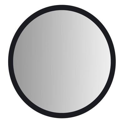 Medium Round Black Mirror (27.5 in. H x 27.5 in. W)