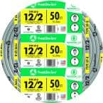 50 ft. 12/2 Gray Solid CU UF-B W/G Wire