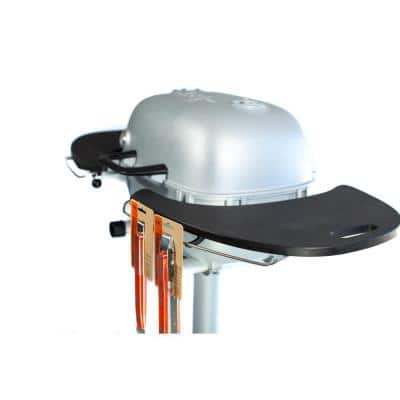 PK Grills PK360 Cast Aluminum Charcoal Grill and Smoker in Silver