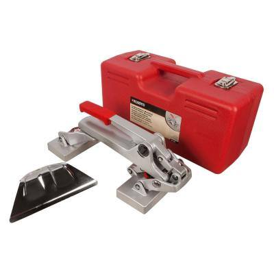 Locking Pattern Matching and Seam Repair Carpet Stretcher with Case