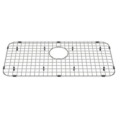 Delancey 26-3/4 in. x 12-13/16 in. Apron Sink Grid in Stainless Steel