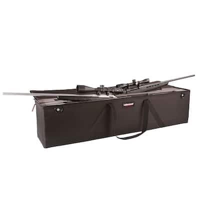 8.125 in. Double Scoped Rifle Tool Case in Black