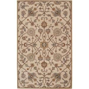 Albi Taupe 8 ft. x 10 ft. Indoor Area Rug