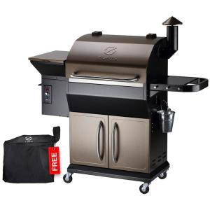 1060 sq. in. Pellet Grill and Smoker, Bronze