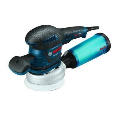3.3 Amp Corded 5 in. Variable Speed Random Orbital Sander/Polisher with Vibration Control