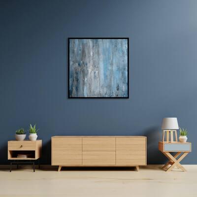 """""""Ambitious Echo"""" by Scott Medwetz Framed Canvas Wall Art"""