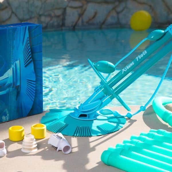 Xtremepowerus Automatic Suction Pool Vacuum For Above Ground And In Ground Pools 75037 The Home Depot