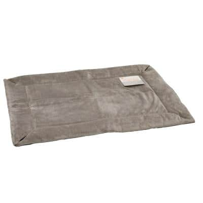25 in. x 37 in. Medium Gray Self-Warming Crate Pad