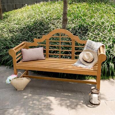 Isla Teak Wood Outdoor Bench