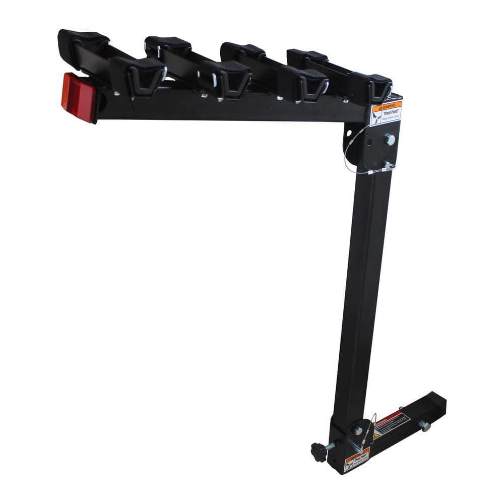 MaxxHaul 150 lbs. Maximum Capacity 4-Bike Deluxe Hitch Mount Rack
